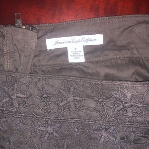 American Eagle Outfitters Skirts - American Eagle Lace Miniskirt